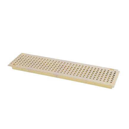 Nicoll pvc zwembadrooster, type Connecto 100, A15, zandkleur, l = 50 cm  default 435x435