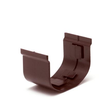 S-lon verbindingsstuk, pvc, 65 mm, bruin  default 435x435