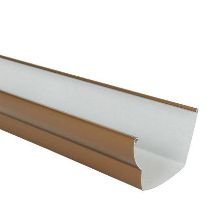 Nicoll Ovation dakgoot, pvc, koper, RAL 8007, 125 mm, l = 4 m