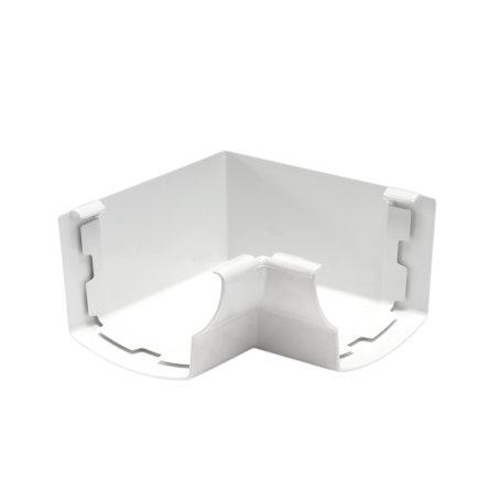 Nicoll Ovation Innenwinkel 90°, PVC, weiß, RAL9010, 125mm