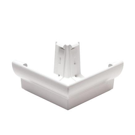 Nicoll Ovation Außenwinkel 90°, PVC, weiß, RAL9010, 125mm