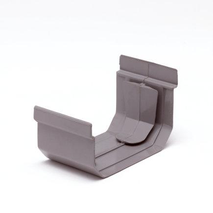 S-lon verbindingsstuk, pvc, 95 mm, grijs  default 435x435