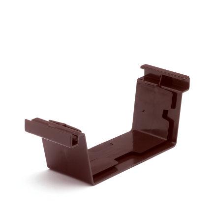 S-lon verbindingsstuk voor bakgoot, pvc, 180 mm, bruin  default 435x435