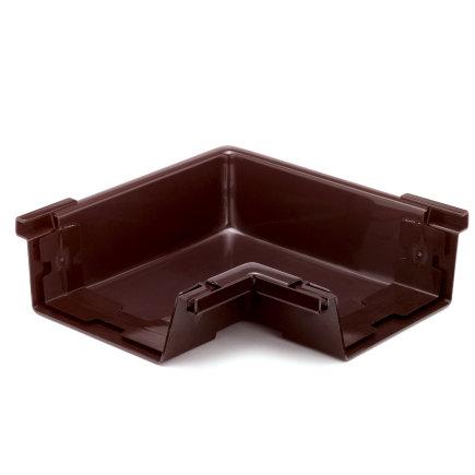 S-lon binnenhoekstuk voor bakgoot, pvc, 140 mm, bruin  default 435x435