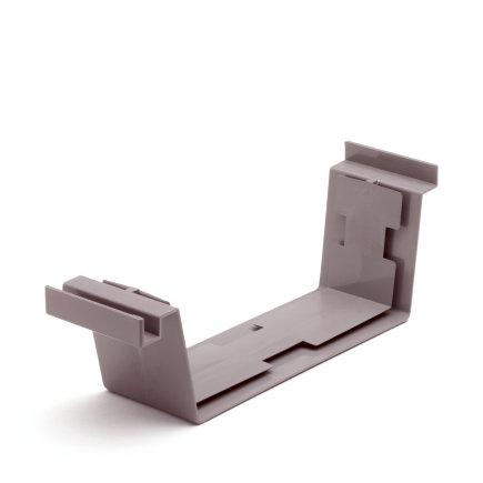 S-lon verbindingsstuk voor bakgoot, pvc, 180 mm, grijs  default 435x435