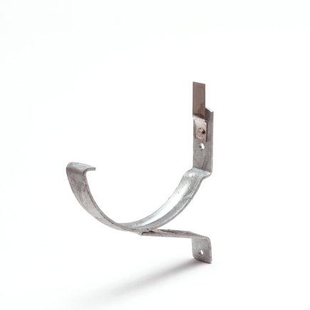 """S-lon gootbeugel voor mastgoot Standaard, aluminium, nr. 2, 6"""", grijs"""