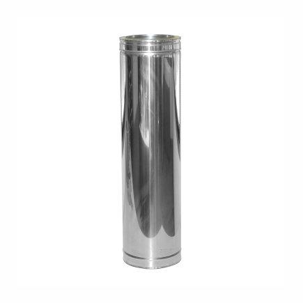 Dinak DW/DW hout, rookgasafvoerbuis, type 020, 150 mm, l = 940 mm