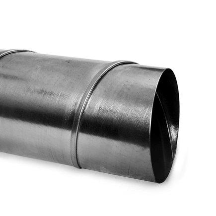 Spiraliet buis, spiraalgefelst, l = 3 m, 100 mm