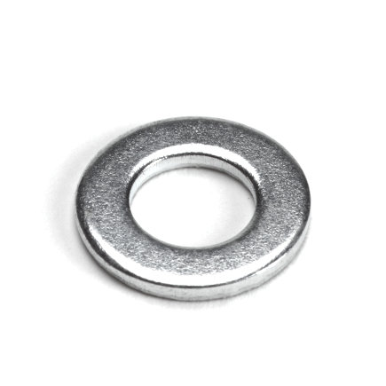 Sluitring, staal, elektrolytisch verzinkt, DIN 125A, M6
