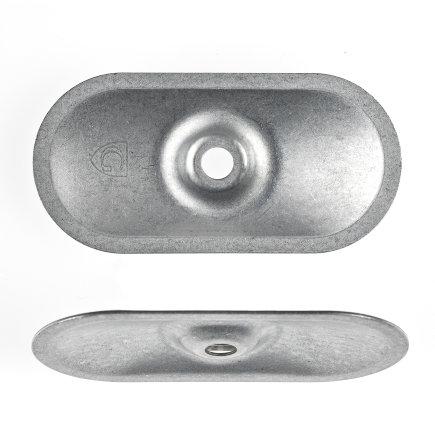 Drukverdeelplaatjes, 82 x 40 x 1,0 mm, à 100 stuks  default 435x435
