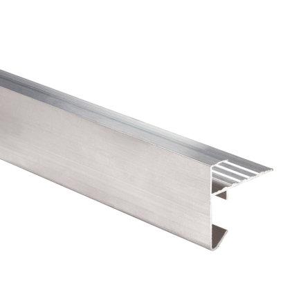 Daktrim aluminium, l = 250 cm, 35 x 35 mm