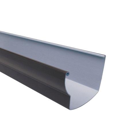 Nicoll Ovation dakgoot, pvc, bruin, RAL 8017, 125 mm, l = 4 m  default 435x435
