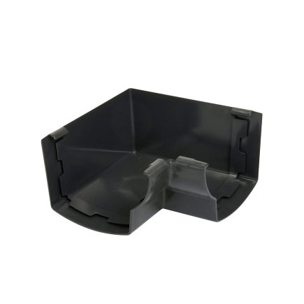 Nicoll Ovation Innenwinkel 90°, PVC, anthrazit, RAL7016, 125mm