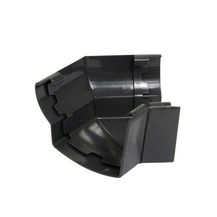 Nicoll Ovation Außenwinkel 135°, PVC, anthrazit, RAL7016, 125mm