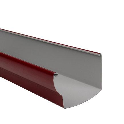 Nicoll Ovation dakgoot, pvc, rood, RAL 3004, 170 mm, l = 4 m  default 435x435