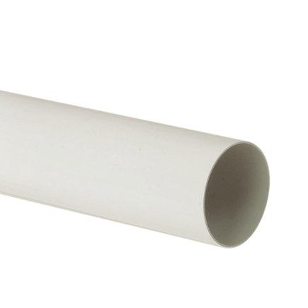 Nicoll hwa buis, pvc, wit, RAL 9010, 100 mm, l = 4 m