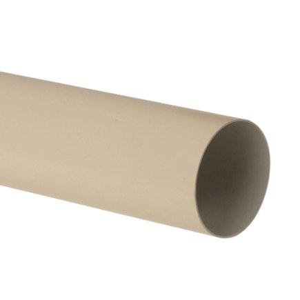 Nicoll hwa buis, pvc, zand, RAL 1015, 100 mm, l = 4 m