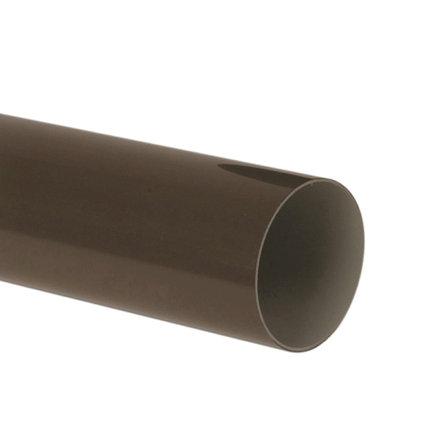 Nicoll hwa buis, pvc, bruin, RAL 8017, 100 mm, l = 4 m  default 435x435