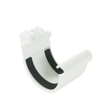 Nicoll verbindingsstuk, pvc, klem, wit, RAL 9010, 70 mm
