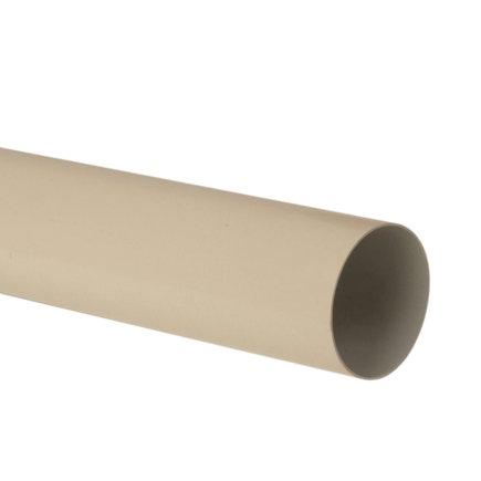 Nicoll hwa buis, pvc, zand, RAL 1015, 50 mm, l = 4 m