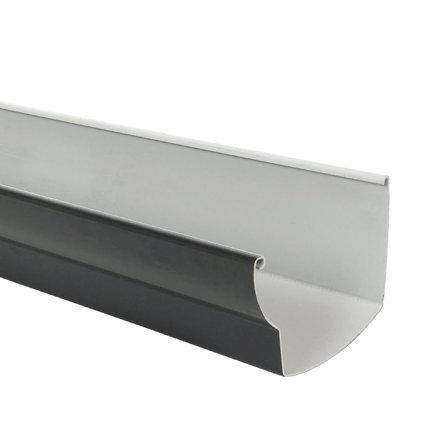 Nicoll Ovation dakgoot, pvc, antraciet, RAL 7016, 170 mm, l = 4 m  default 435x435