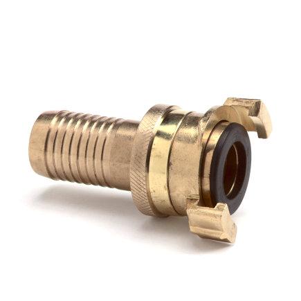 """Geka messing druk- / zuigkoppeling met nastelbare slangtule, 1""""  default 435x435"""