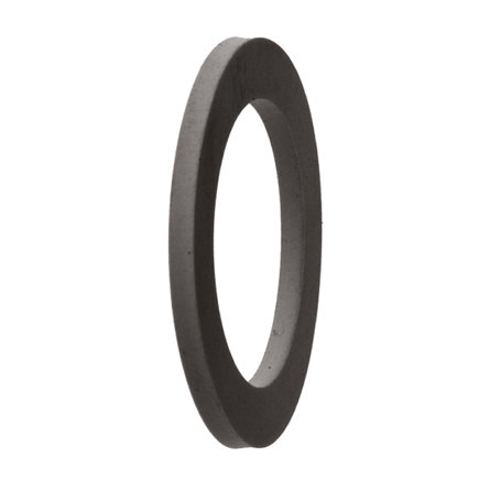 Geka rubberring vlak, 26 x 18 x 2 mm, SBR