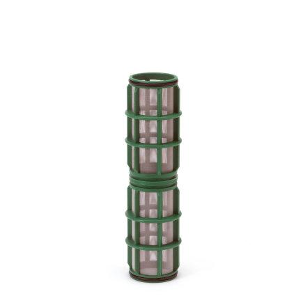 """Amiad cil.zeef tbv vloeistoffilter 2"""", d x l = 100 x 250 mm, zeefperf. 0,50 mm, groen"""