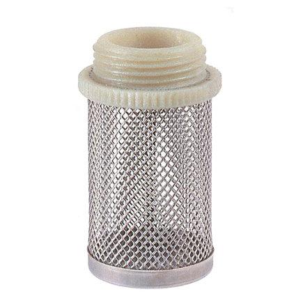 "RIV rvs filterkorf, type 2310, 1x buitendraad, ½""  default 435x435"