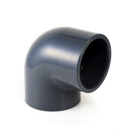 VDL pvc knie 90°, 2x inwendig lijm, 16 bar, type A, 12 mm