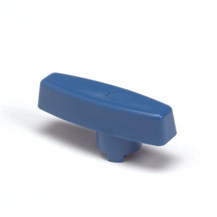 VDL pvc handgreep voor kogelkraan, blauw, 50 mm  default 435x435