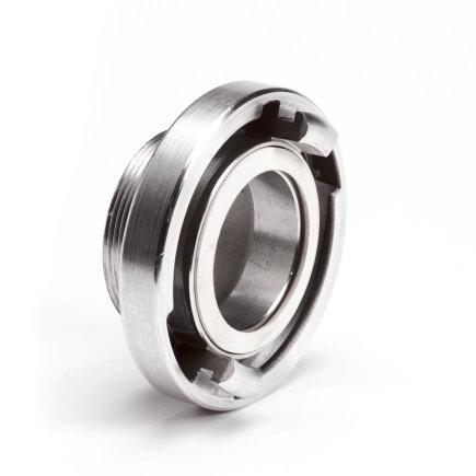 """Storz aluminium koppeling met buitendraad, 66 mm x 2""""  default 435x435"""
