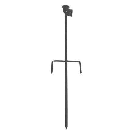 """Talen Tools sproeistatiefsteekpen met dwarssteun, enkel, ¾"""", gepoedercoat staal"""