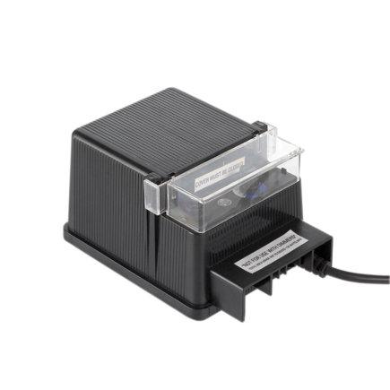 AUGA transformator met timer en sensor, type Power C 100, 105 W, 230 V AC / 12 V AC  default 435x435