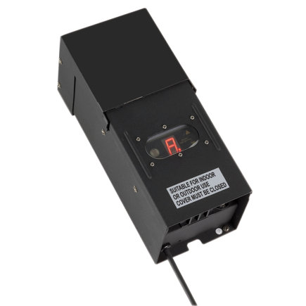 AUGA transformator met timer en sensor, type Power C 300, 300 W, 230 V AC / 12 V AC  default 435x435
