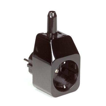 Koppelstekker met aarde voor PSN-O/PSN-X vlotterschakelaar, zwart, 230 V, oud model  default 435x435