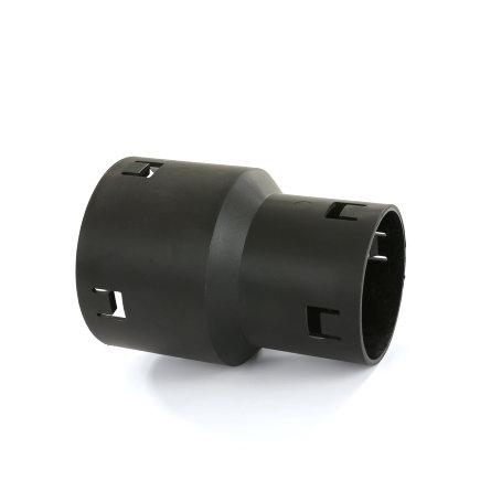 Klik verloopmof, voor drainagebuis, pvc, 50 x 60 mm
