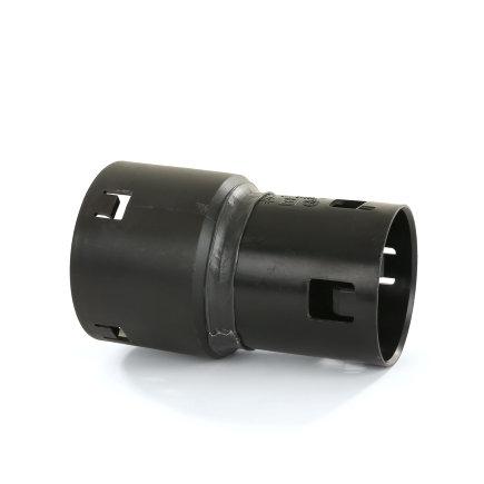 Klik verloopmof, voor drainagebuis, pp, 65 x 80 mm
