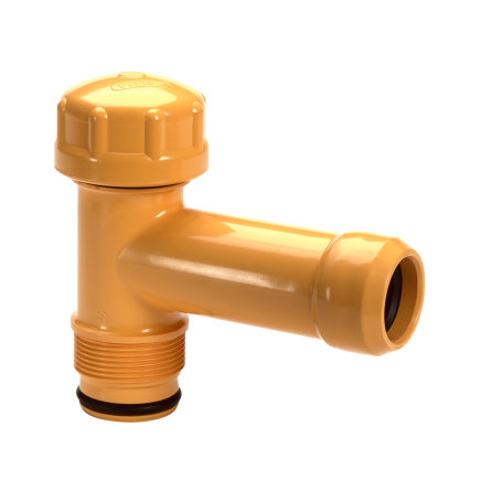 "Pipelife slagvaste pvc gasaansluitstuk, niet trekvast, Gastec QA, SDR 17,6, 25 mm x 1½"""