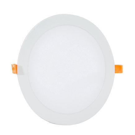Adurolight® Premium Quality Line platte led downlight, Adriane, wit, 18 W, 2700 K