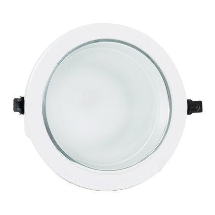 Adurolight® Premium Quality Line Classic led downlight, Agusti, wit, 16 W, 3000 K