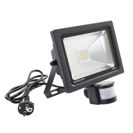 Adurolight® Premium Quality Line led sensor schijnwerper, Firmio Sensory 20, 20W, 3000K  default 435x435