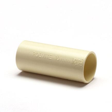 Pvc elektrasok, crème, 51 mm  default 435x435