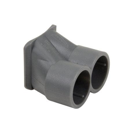 Attema buisinvoer voor inbouwdoos, tweevoudig, 16 mm  default 435x435