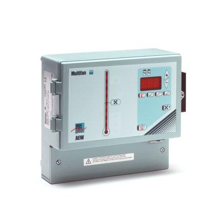 Multifan toerentalregelaar voor lagedruk-axiaalventilator, type RAEW63AOM1