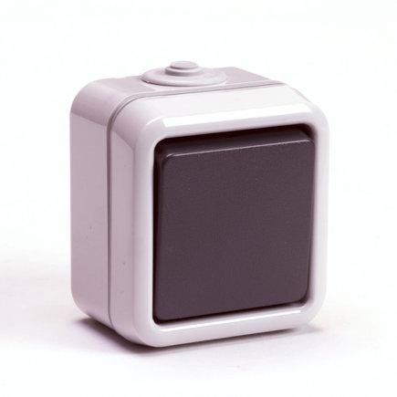 Peha spwd wipschakelaar 10 A/250 V, universeel, 1-polig/wissel, IP 54