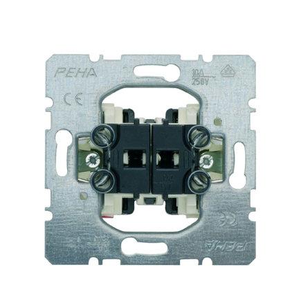 Peha jaloezieschakelaar, type D214, 2 sluitcontacten, met vergrendeling  default 435x435