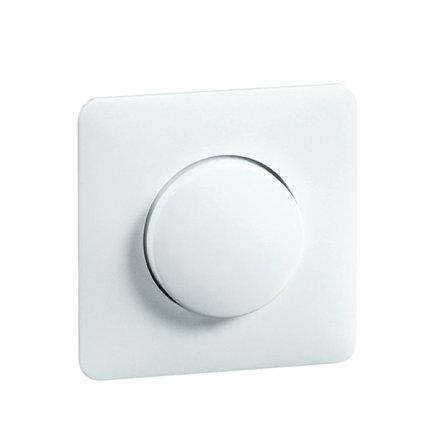 Peha Standard afdekking met knop, met centraalplaat voor combinaties, wit