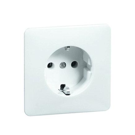 Peha Standard inbouw wandcontactdoos, met randaarde, levend wit  default 435x435
