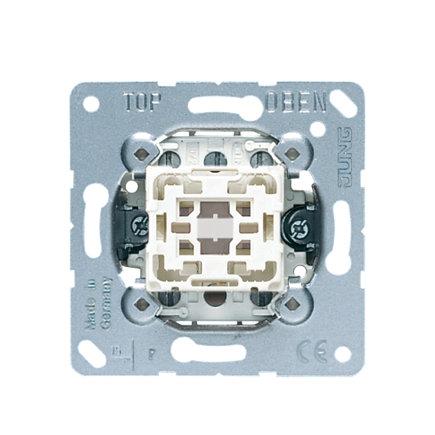Jung impulsdrukker, type 531-41U, 2x2 maakcontacten, 1-voudig, basis